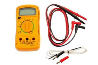Laser 5989 Multi Meter/Temp Tester - Digital